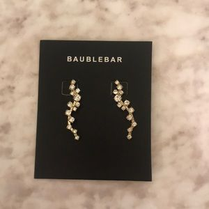 Bauble Bar ear crawler earrings